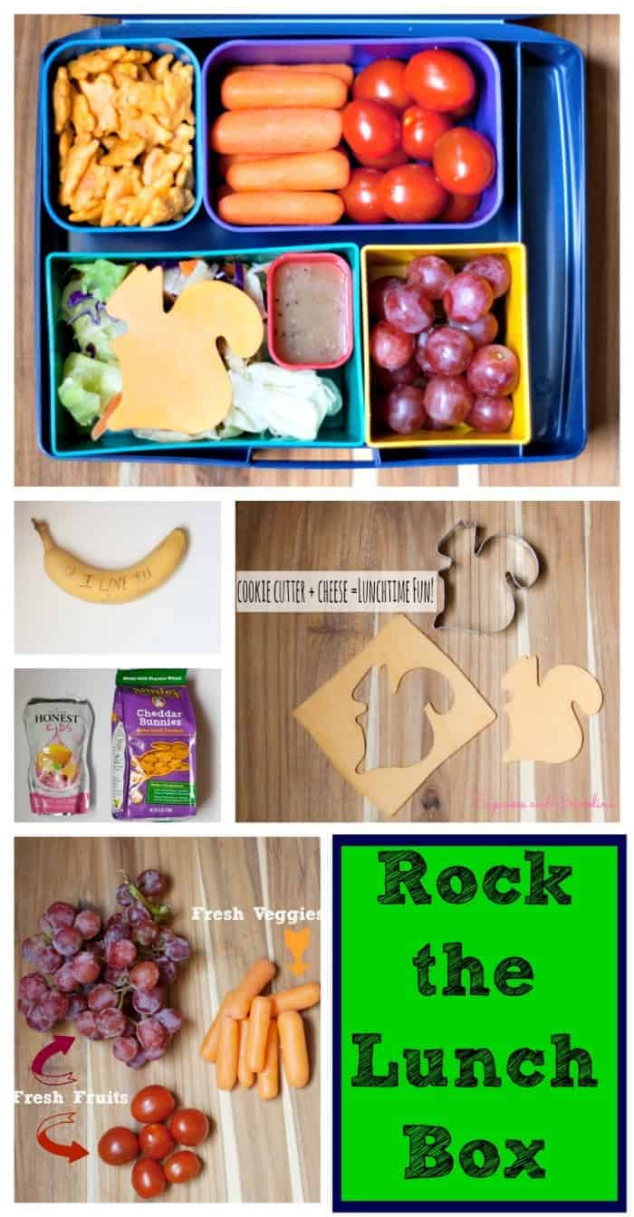 Rock the Lunchbox with these healthy and fun choices. #rockthelunchbox #spon