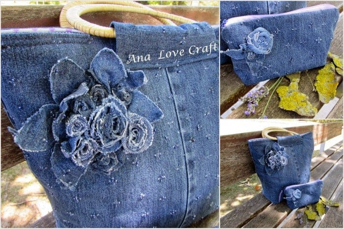 Blue Jean Purse Upcycle