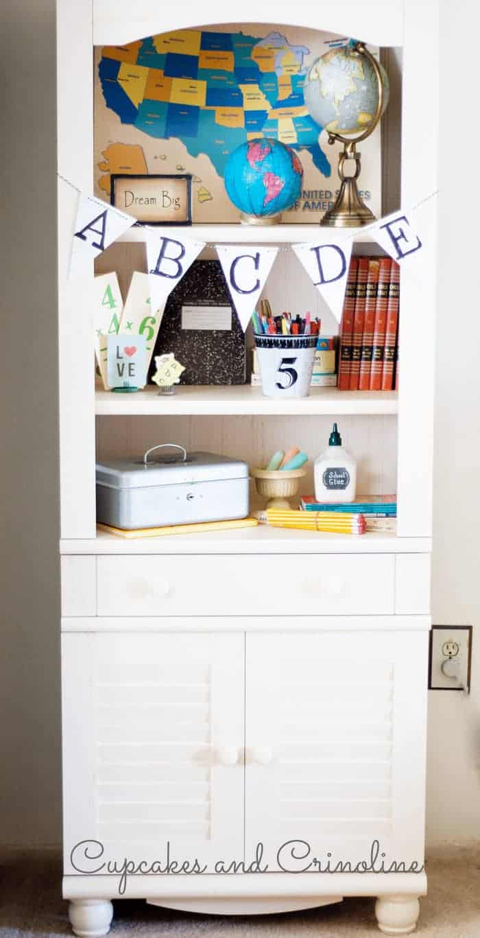 Organize and display with a Library with doors. It's the perfect combination of functionality and style. #spon