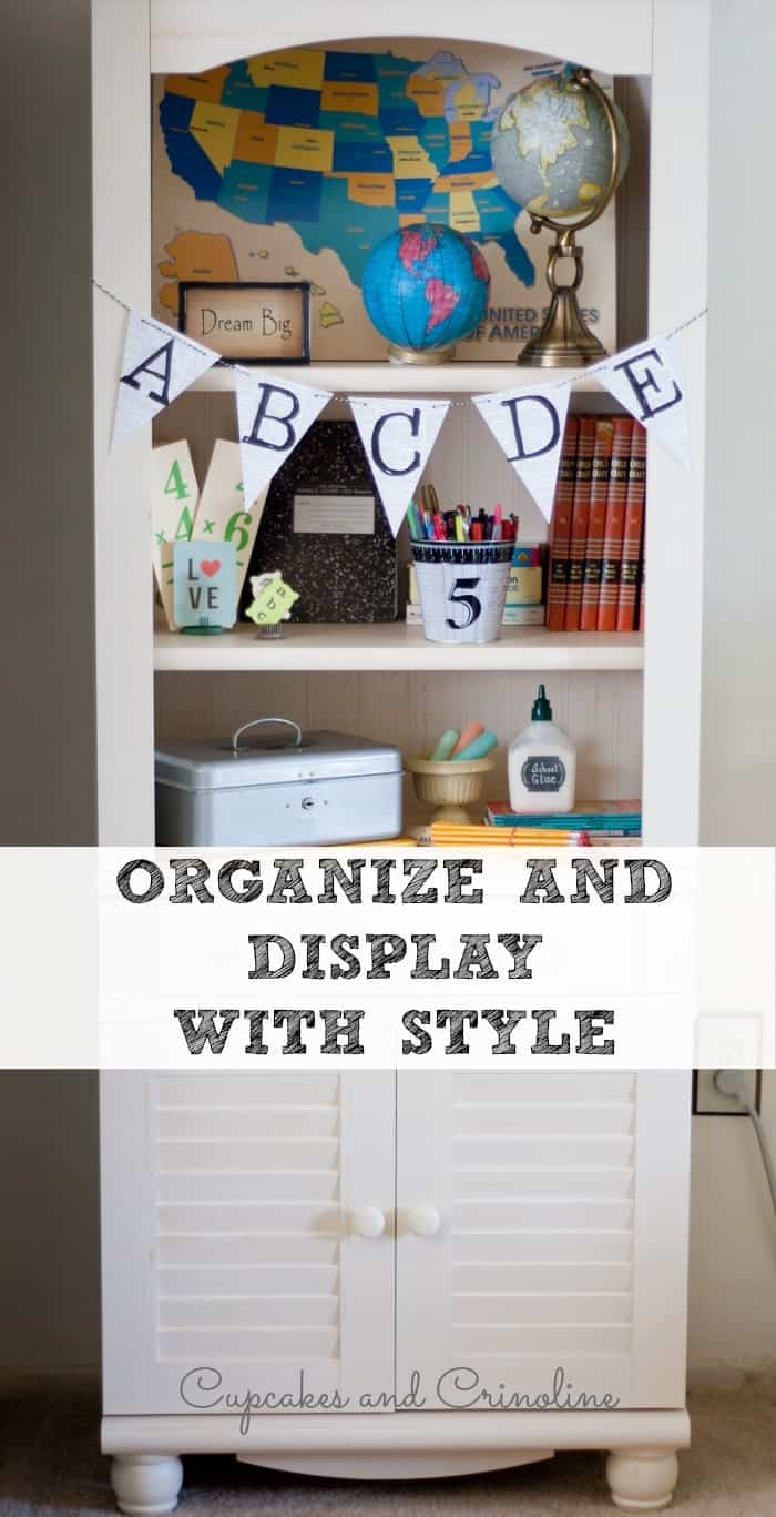 A Library with Drawers is a great combination of storage and function. #spon
