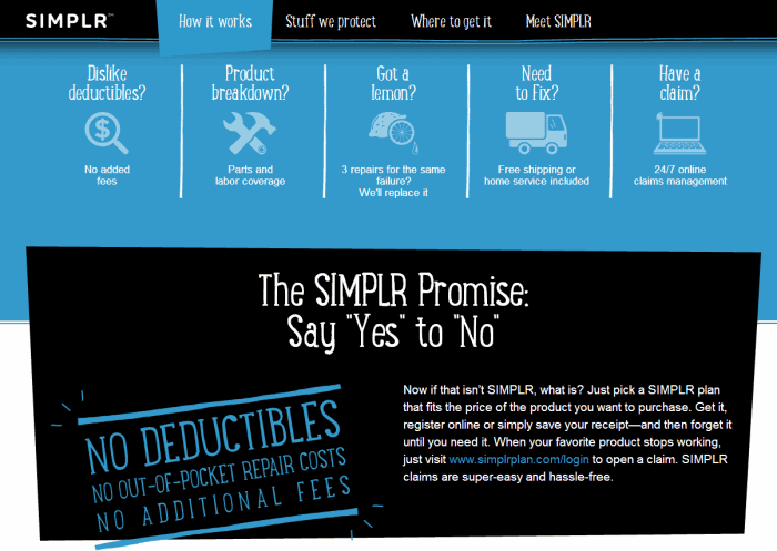 The best protection gizmo and gadget protection plan I know of ~ The SIMPLR plan AD #SIMPLRplan