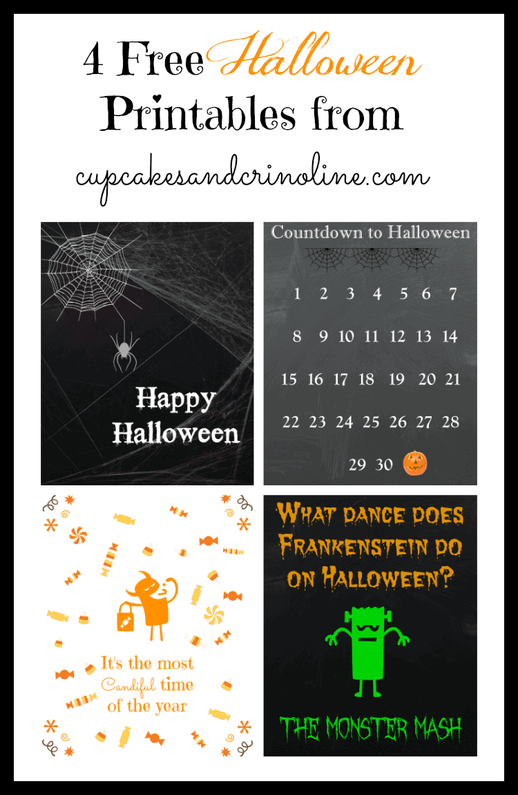 10 Fun Free Halloween Apps and Some Snazzy Free Halloween Printables for Kids