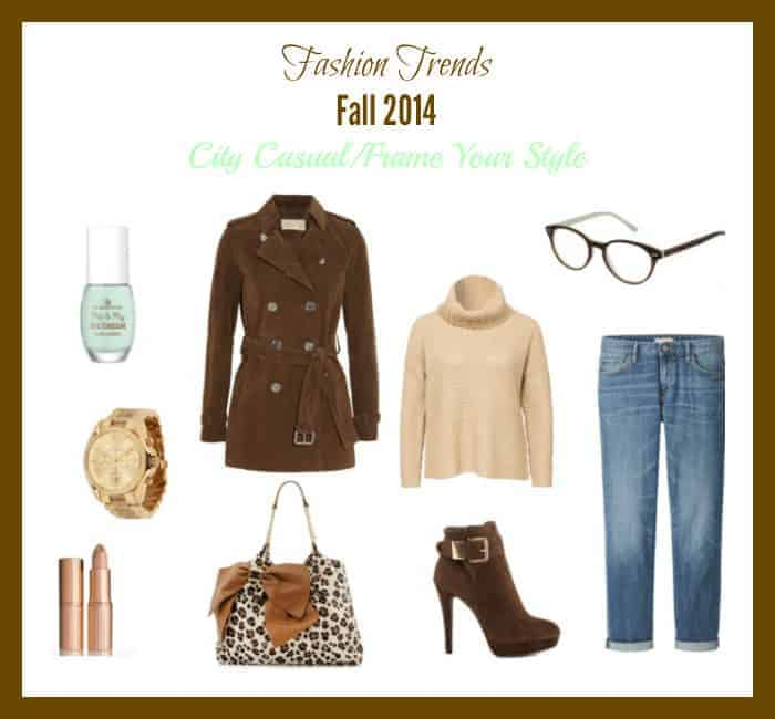 Fashion Trends Fall 2014 City Casual Frame Your Style #VSPStyle #ad