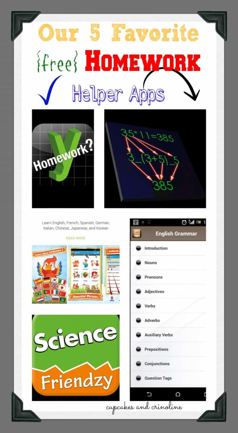 Favorite and free homework helper apps for kids. #homework #apps #school #kids #HTCRemix #VZWBuzz