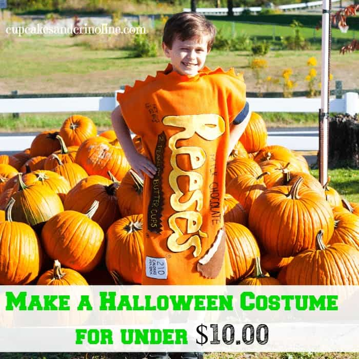 How To Make a Halloween Costume for Under $10.00 from cupcakesandcrinoline.com