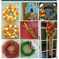 Seven Lovely Fall Wreaths from Project Inspire{d} ~ What a Great Idea!