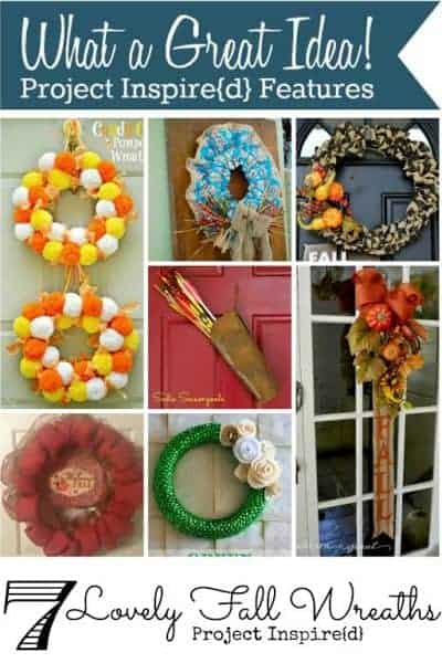 Seven Lovely Fall Wreaths ~ What a Great Idea!