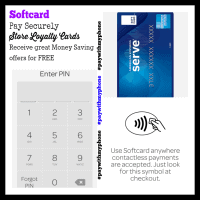 Pay securely, Store Loyalty Cards, Receive Great Money Saving Offers and More with Softcard #paywithmyphone #ad