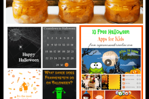 Recipes, Costume Tutorials {80+}, Printables and Free Halloween Apps from cupcakesandcrinoline.com