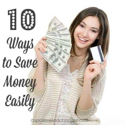 10 Ways to Save Money Easily
