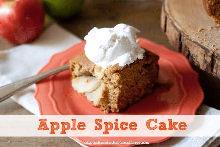 Apple Spice Cake 4