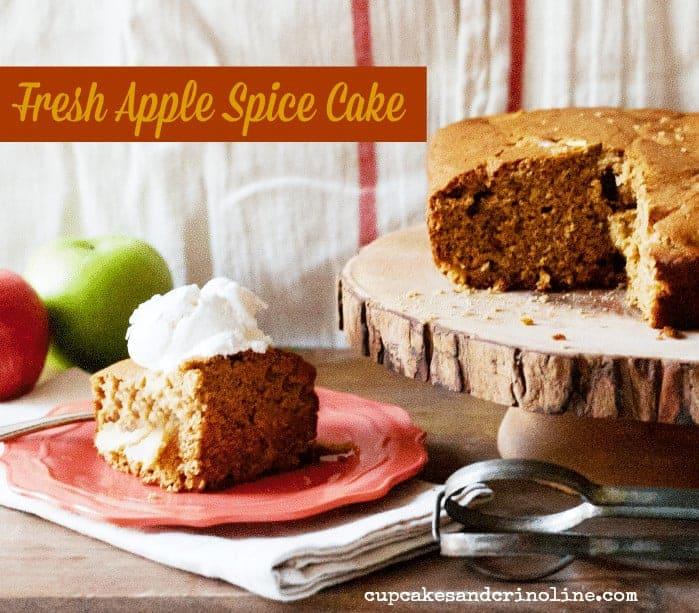Apple Spice Cake from cupcakesandcrinoline.com 2