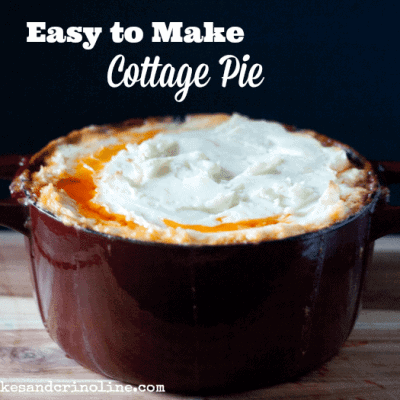 Easy to Make Cottage Pie with a Mashed Potato Crust ~ Home Cooking 101