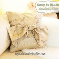 Easy to Make Envelope Pillow #FunWithFabric