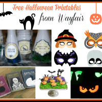 Free Halloween Printables from Wayfair
