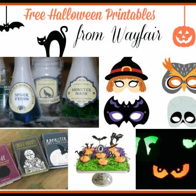Wayfair Housewarming Party Linkup:  Halloween Edition