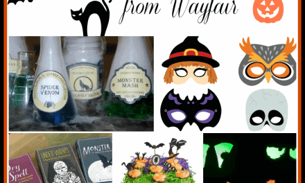 Wayfair Housewarming Party Linkup:  Halloween Edition