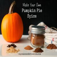 Pumpkin Pie Spice from cupcakesandcrinoline.com {7x7}