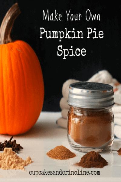 Make Your Own Pumpkin Pie Spice