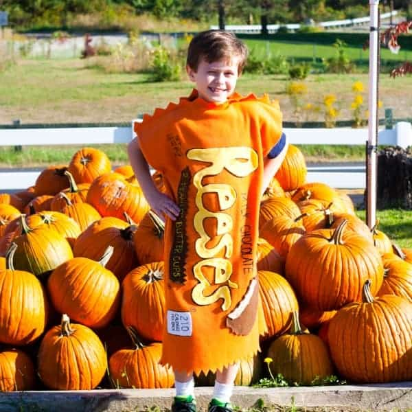 Reese's Peanut Butter Cup Costume