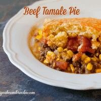 Tamale Pie with Cornbread Crust from cupcakesandcrinoline.com