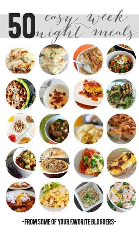 50 Easy Weeknight Meals