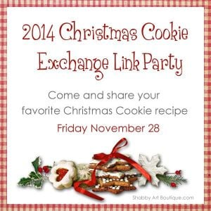 Christmas Cookie Recipes and Exchange Link Party