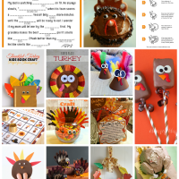 18 Thanksgiving Crafts for Kids from cupcakesandcrinoline.com