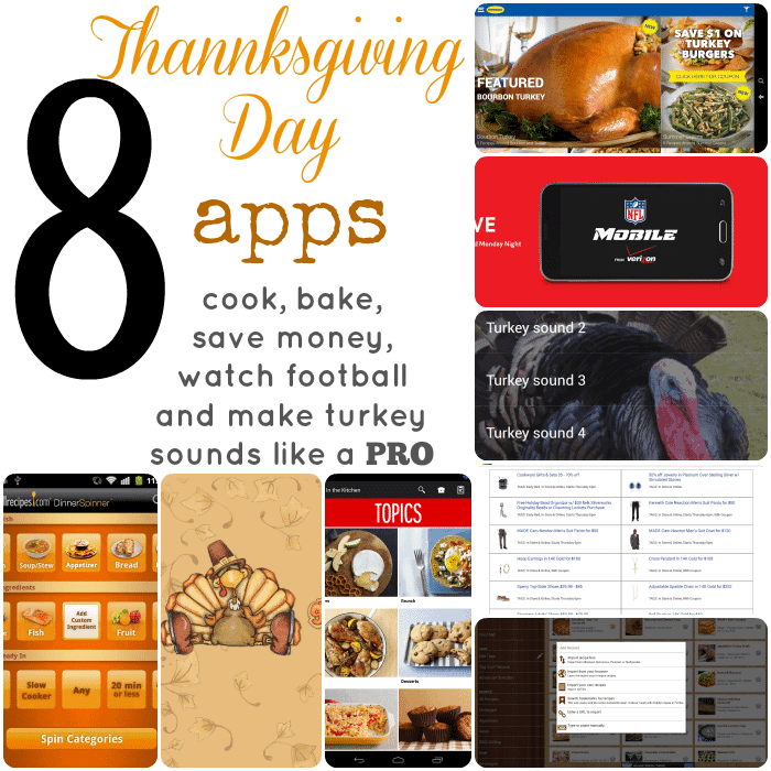 8 Thanksgiving Day Apps