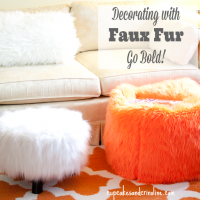 Decorating with Faux Fur