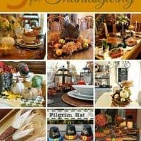 9 Ideas for Thanksgiving Entertaining