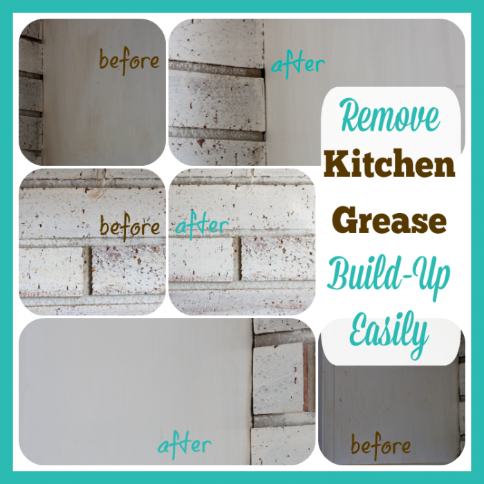 Remove Kitchen Grease Build-Up Easily #TryZep