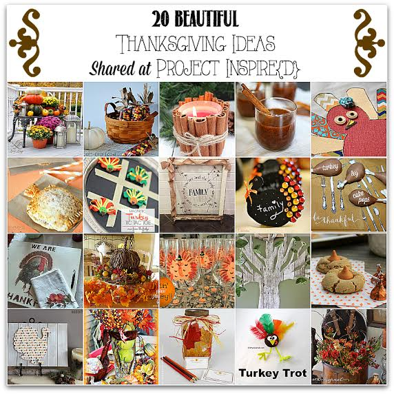 20 Thanksgiving Ideas ~ What a Great Idea!