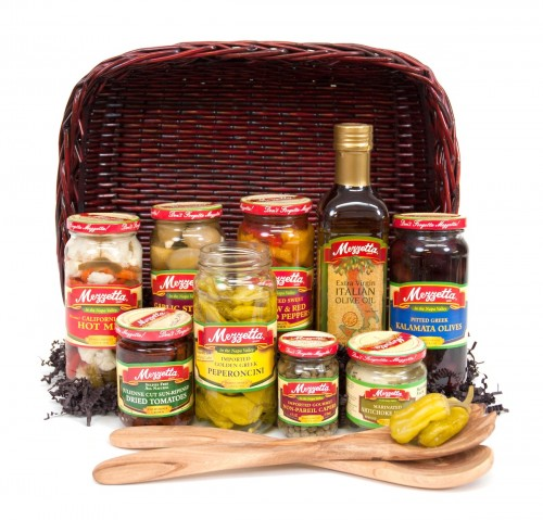 Holiday Gift Basket Giveaway #MezzettaMemories