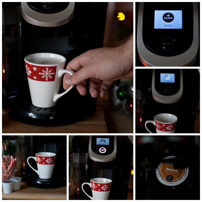 Hazelnut Coffee from #Keurig400 #ad