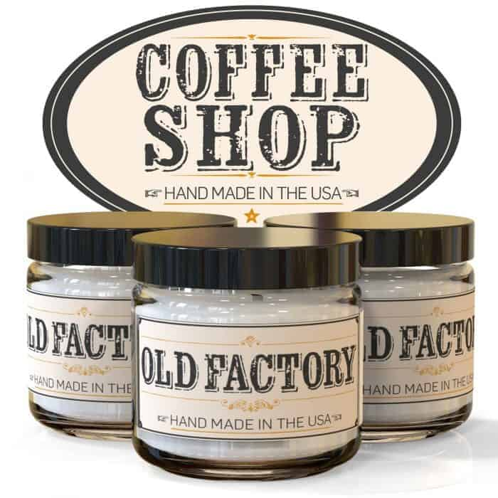 Coffee Shop Coffee Scented Candles ~ Gift Ideas for Coffee Lovers from cupcakesandcrinoline.com