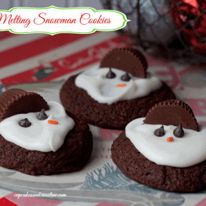 Melting Snowman Cookies and an UncommonGoods Giveaway