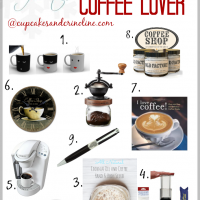Holiday Gift Guide for the Coffee Lover #UltimateGiftGuides #CoffeeLovers from cupcakesandcrinoline.com