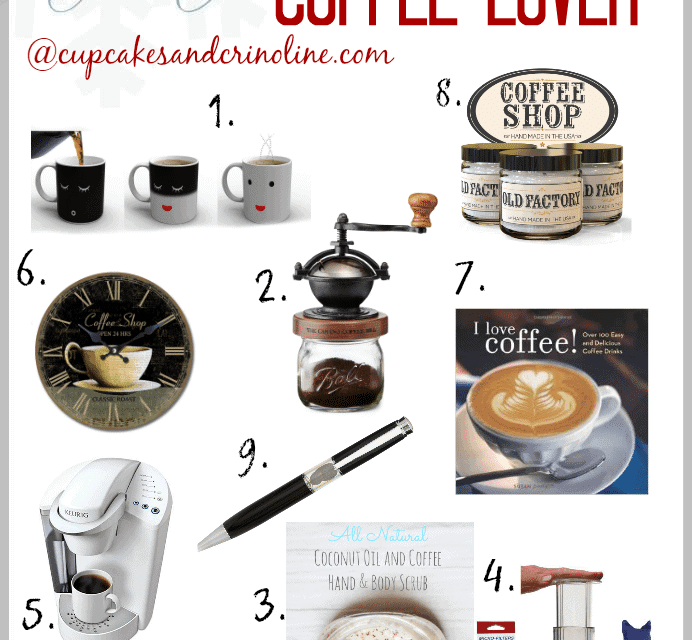 10 Fresh Brewed Ideas ~ Gift Guide for Coffee Lovers