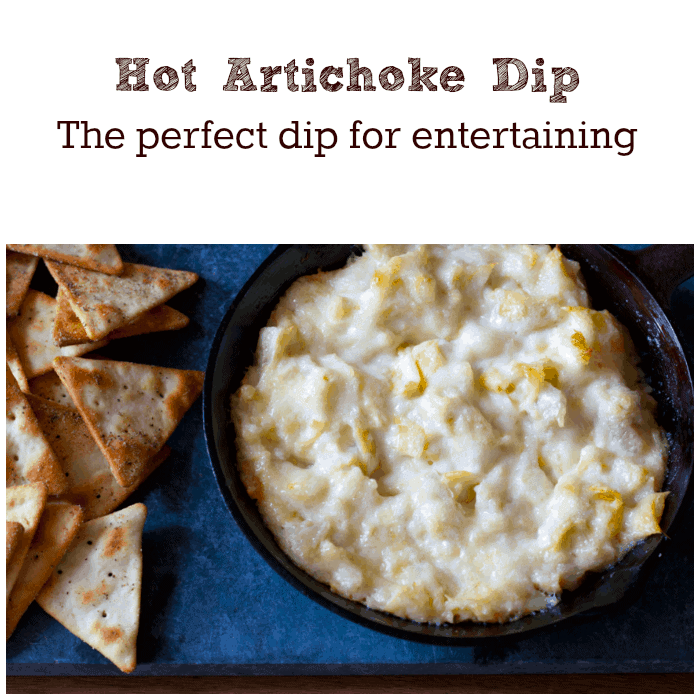 Hot-Artichoke-Dip-the-perfect-dip-for-entertaining-with-only-4-ingredients-and-only-20-minutes-in-the-oven.-Can-be-made-ahead-and-refrigerated-up-to-3-days-in-advance.-cupcakesandcrinoline.com_.pn