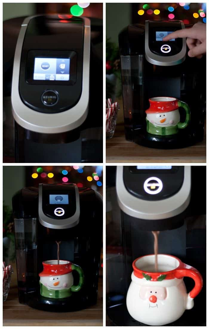 Hot Cocoa from the Keurig 2.0