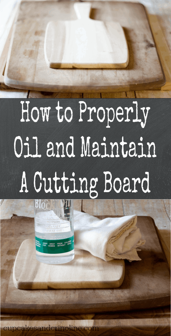 How to Properly Oil and Maintain a Cutting Board