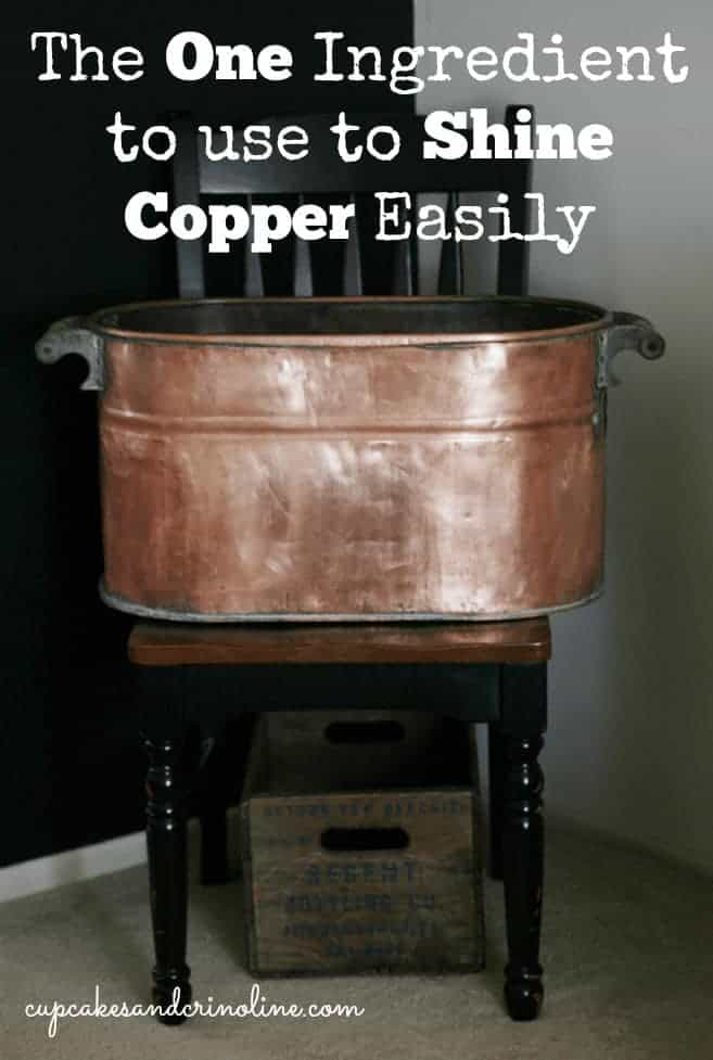 How to clean copper easily with one secret ingredient