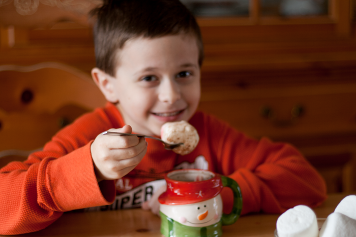 Max with Hot Cocoa and Marshmallow #Keurig400