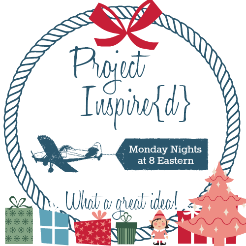 Project Inspired What a great idea! Christmas Button