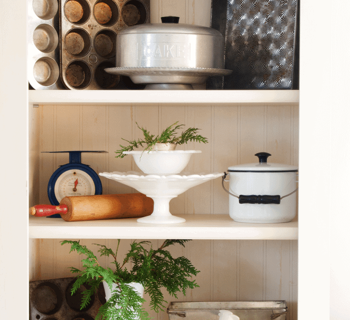 Decorating Versatility ~Easy Transition from French Country to Vintage Kitchen Display