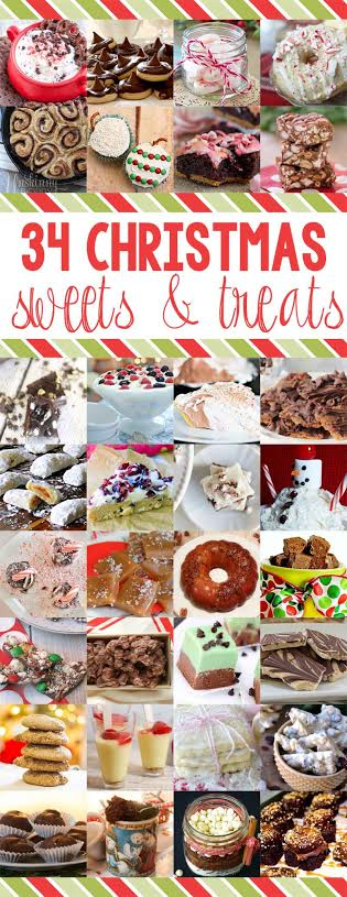 34 Christmas Sweets & Treats