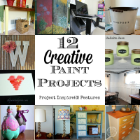 12 Creative Paint Projects - Project Inspire{d}  Features