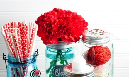 5 Mason Jar Projects for The Non Crafty