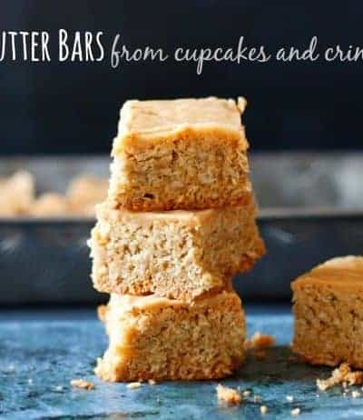 Lunch Lady Recipe for Peanut Butter Bars